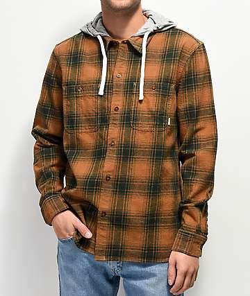 Element Miller camisa de franela con capucha