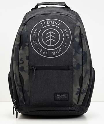 Element Mohave Bark Grey & Camo Backpack