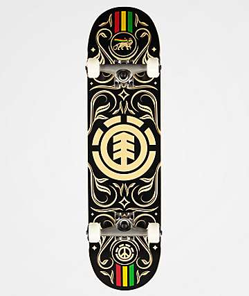 "Element Naturalistic 8.0"" Skateboard Complete"