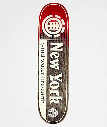 "Element New York 8.0"" Skateboard Deck"