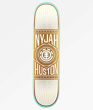 "Element Nyjah Brilliance 8.0"" Skateboard Deck"