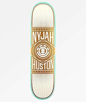 "Element Nyjah Brilliance 8.0"" Skateboard Deck"