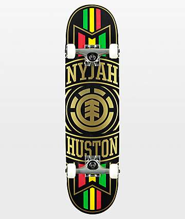 "Element Nyjah Elite Twig 7.6"" Skateboard Complete"