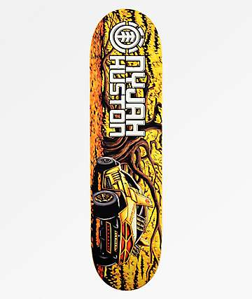 "Element Nyjah Future Nature 8.12"" Skateboard Deck"