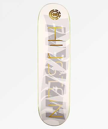 "Element Nyjah Gold Overlay 8.1"" Skateboard Deck"