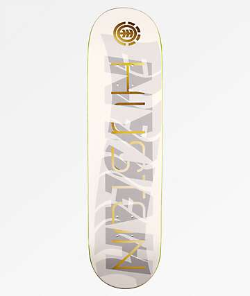 "Element Nyjah Gold Overlay 8.1"" tabla de skate"