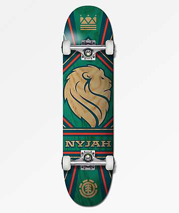 "Element Nyjah Monarch 7.75"" Skateboard Complete"