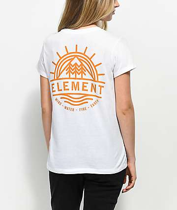 Element Ouch White T-Shirt