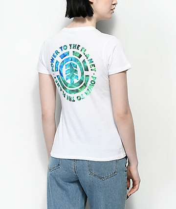 Element PTTP Earth Day camiseta blanca