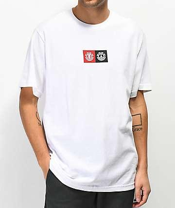 Element Peace Front camiseta blanca