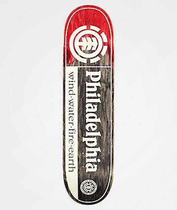 "Element Philadelphia 8.0"" Skateboard Deck"