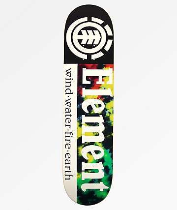 "Element Rasta Section 7.75"" Skateboard Deck"