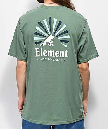 Element Rising Laurel camiseta verde