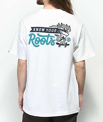 Element Roots camiseta blanca