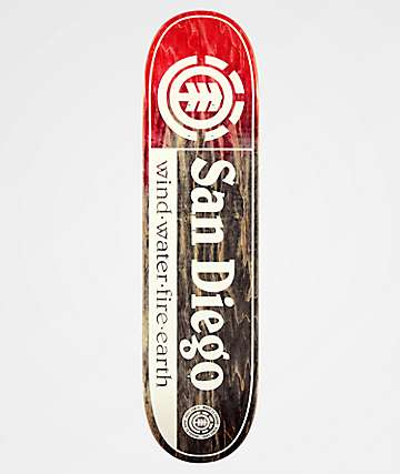 "Element San Diego 8.0"" tabla de skate"