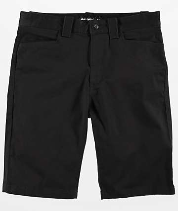 Element Sawyer Black Shorts