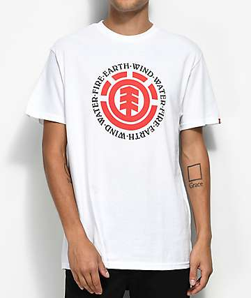 Element Seal White & Red T-Shirt