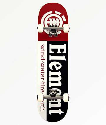 "Element Section 7.7"" Skateboard Complete"