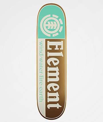 "Element Section Brilliance 8.0"" Skateboard Deck"