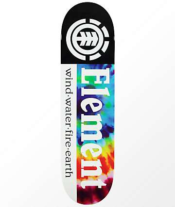 "Element Section Tie Dye 8.0"" Skateboard Deck"
