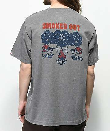 Element Smoke Grey T-Shirt
