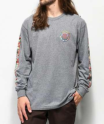Element Spirited camiseta gris de manga larga