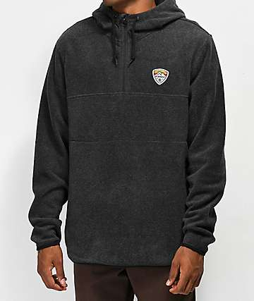 Element Taylor Quarter Zip Fleece Hoodie