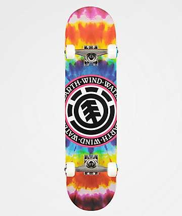 Element Tie Dye Seal 7.75 completo de skate