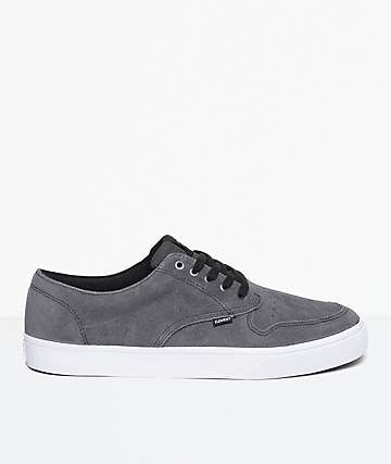 Element Topaz Asphalt Suede Shoes