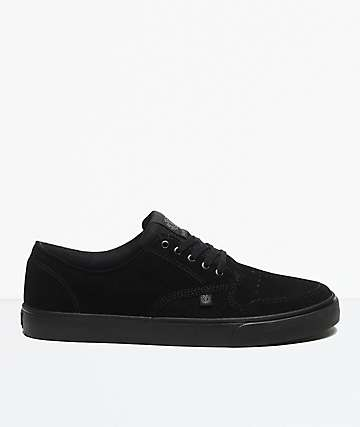 Element Topaz Flint Black Suede Shoes