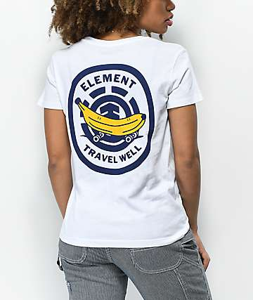 Element Travel White T-Shirt