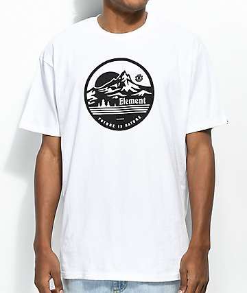 Element Travels camiseta blanca
