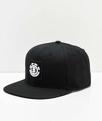 Element United Flint gorra negra