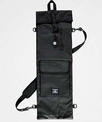 Element Water Repellent Black Skate Bag
