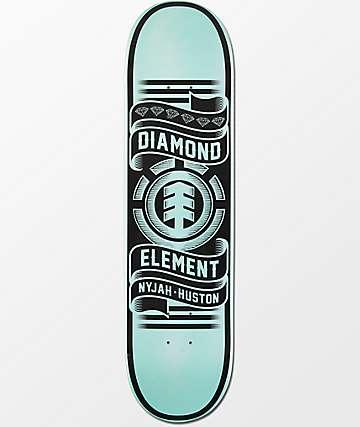 "Element X Diamond Supply Co Nyjah Huston 8.0""  Skateboard Deck"