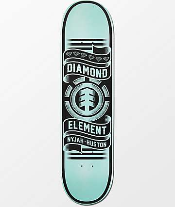 "Element x Diamond Supply Co. Nyjah Huston 8.0"" Skateboard Deck"