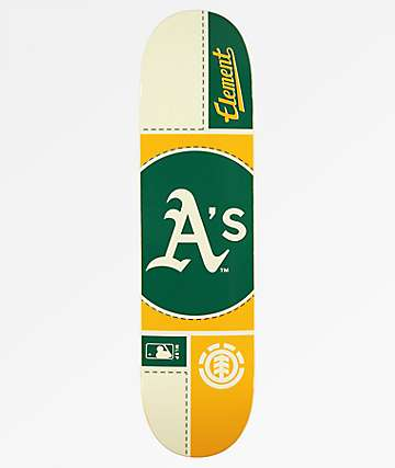 "Element x MLB Oakland Athletics Circle 8.0"" Skateboard Deck"