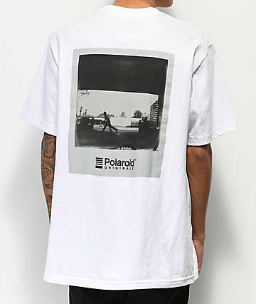 Element x Polaroid Brian Gaberman White T-Shirt