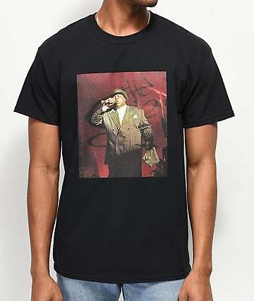 Elenex Big Poppa Black T-Shirt