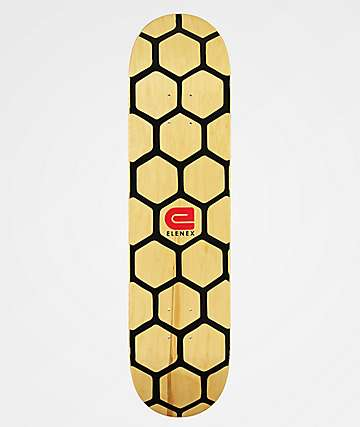 "Elenex Honey Comb 7.75"" Skateboard Deck"
