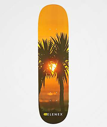 "Elenex Palm Trees 8.0"" Skateboard Deck"