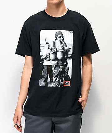 Elenex RZA Rings Black T-Shirt