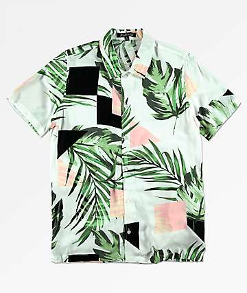 Elwood Boys Silky Short Sleeve Button Up Shirt
