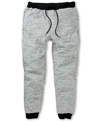 Elwood Grey Terry Skinny Jogger Pants