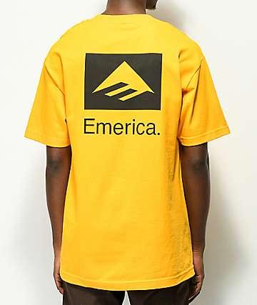 Emerica Brand Combo Gold T-Shirt