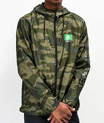 Emerica Classic Combo Camo Windbreaker Jacket