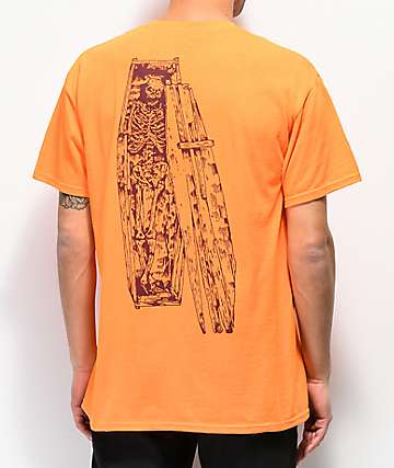 Emerica Coffin camiseta naranja