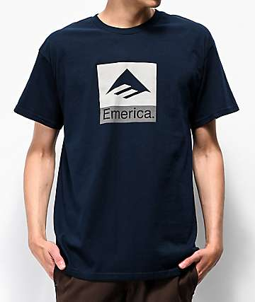 Emerica Combo Navy T-Shirt