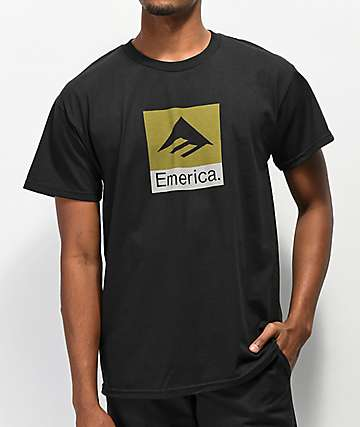 Emerica Combo camiseta negra