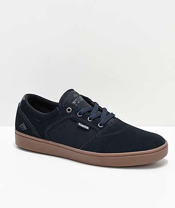 Emerica Figgy Dose Navy & Gum Skate Shoes